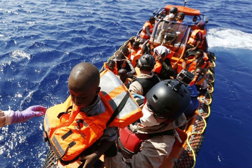 Plus de 2000 migrants secourus au large des côtes libyennes