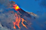 Eruption spectaculaire de l'Etna